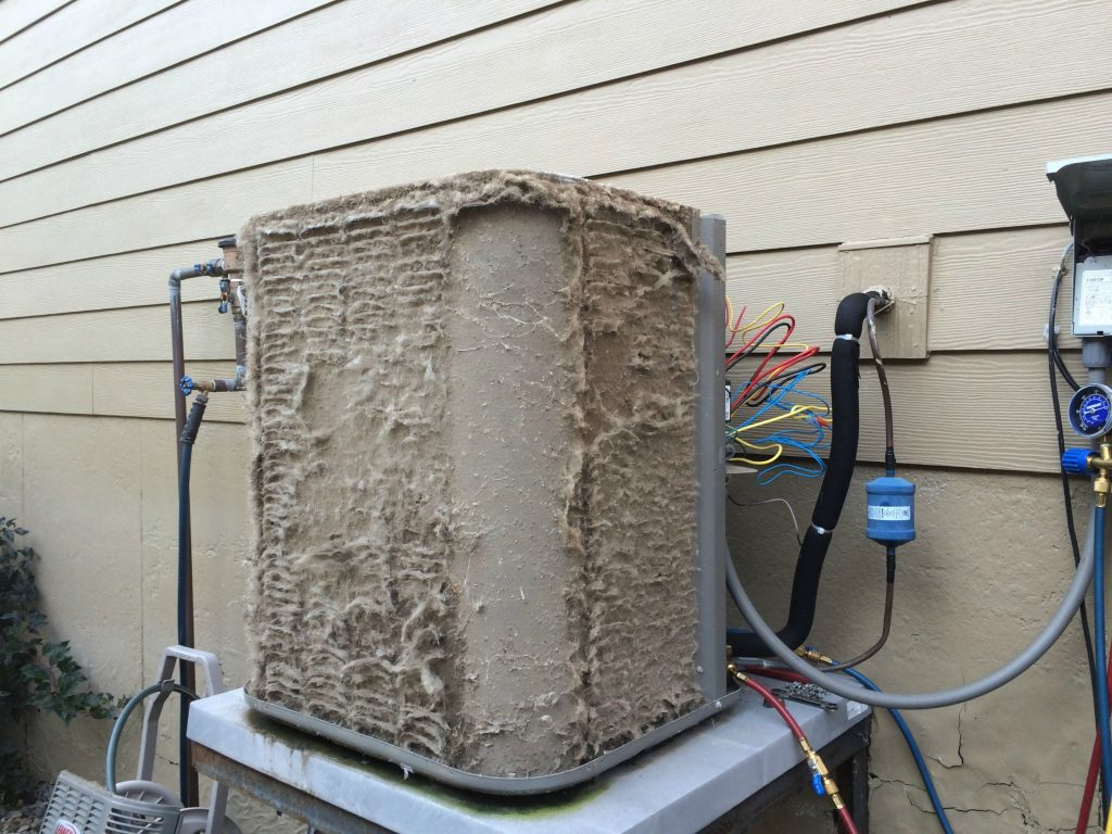 possible cause of ice on air conditioner